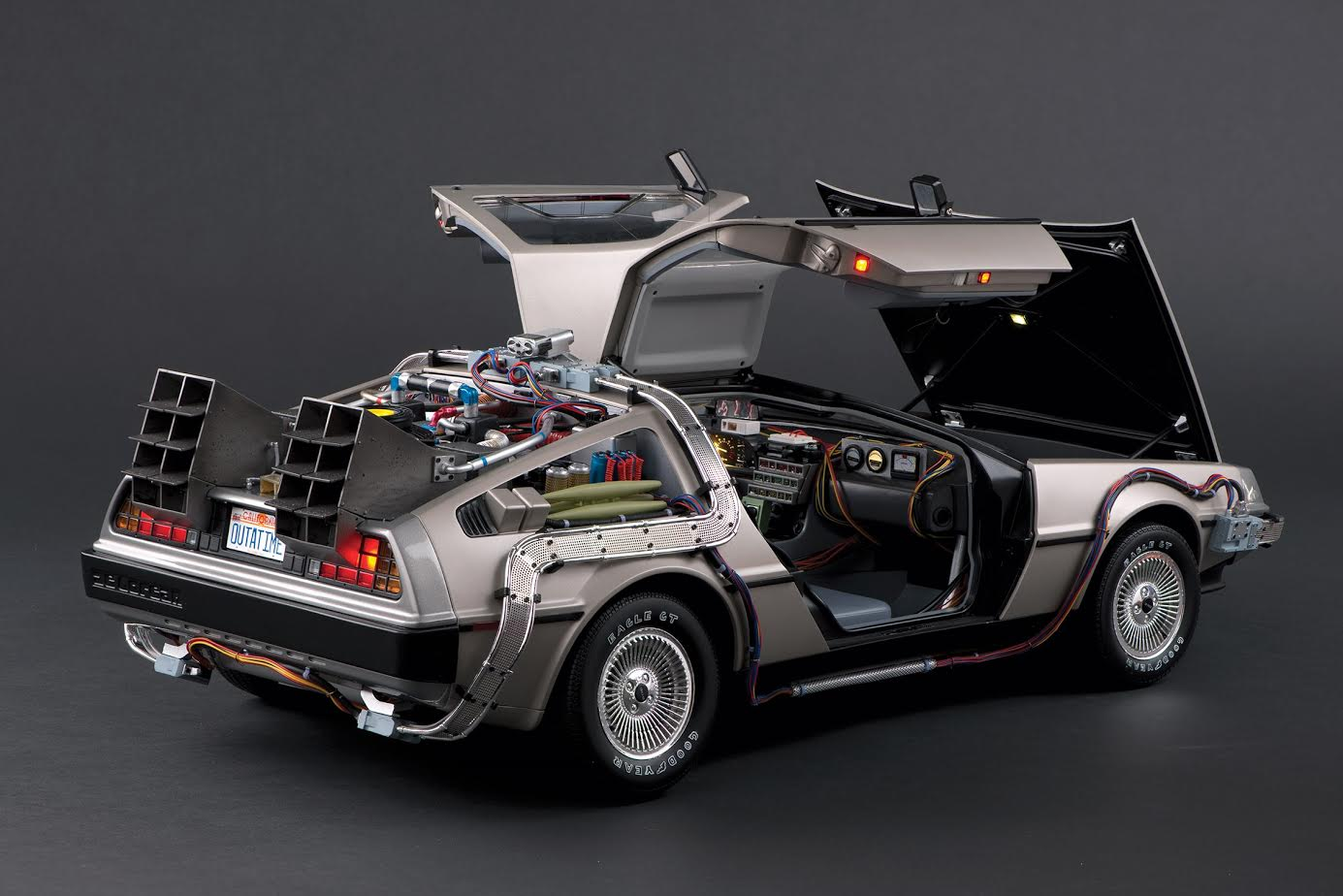 back to the future fans you can now build your own delorean. Black Bedroom Furniture Sets. Home Design Ideas