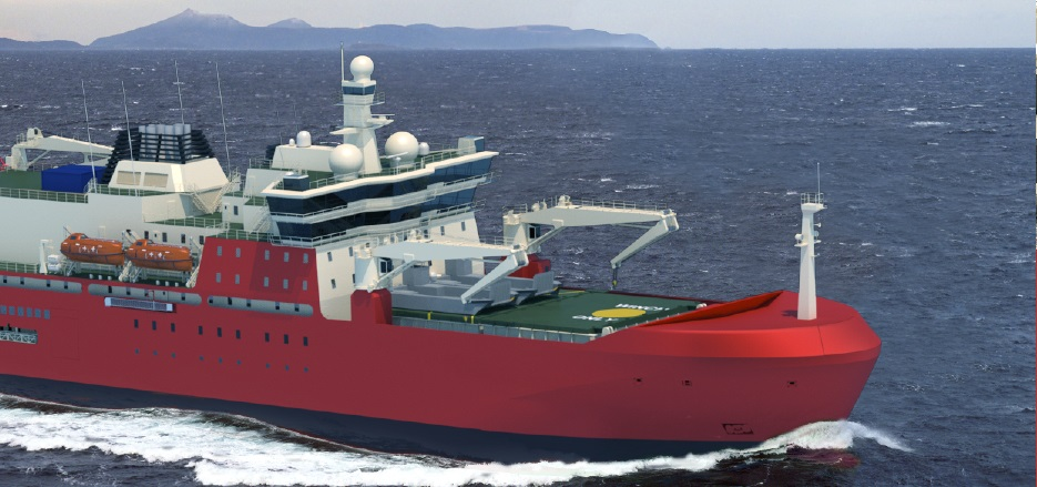 ceeb574d9f The Australian Government has today provided the first look at Australia's  new icebreaker, showcasing a modern, sophisticated ship that will offer ...